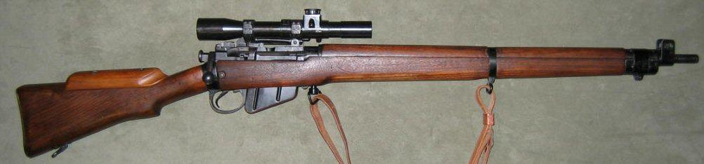 Lee-Enfield Rifle No 4 (T)  22RF