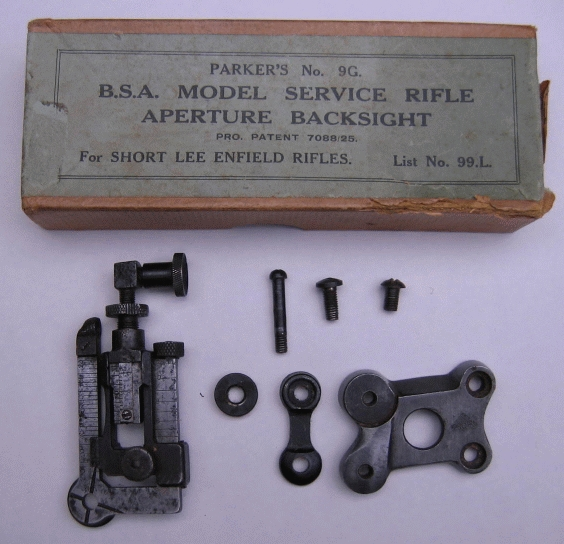 BSA sights and accessories