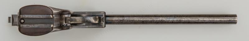 The Webley & Scott Model 1911 pistol with Parker-Hale Moderator