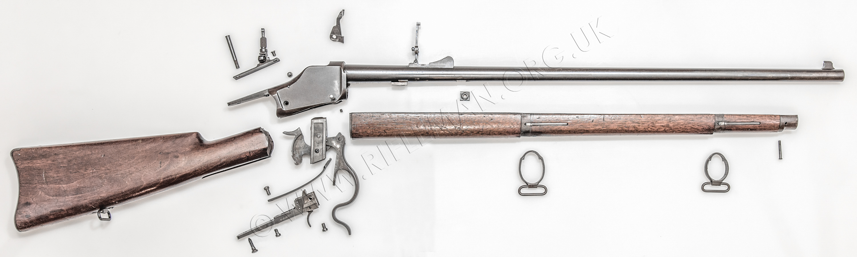 Winchester Winder Musket and Semi-Auto rifles