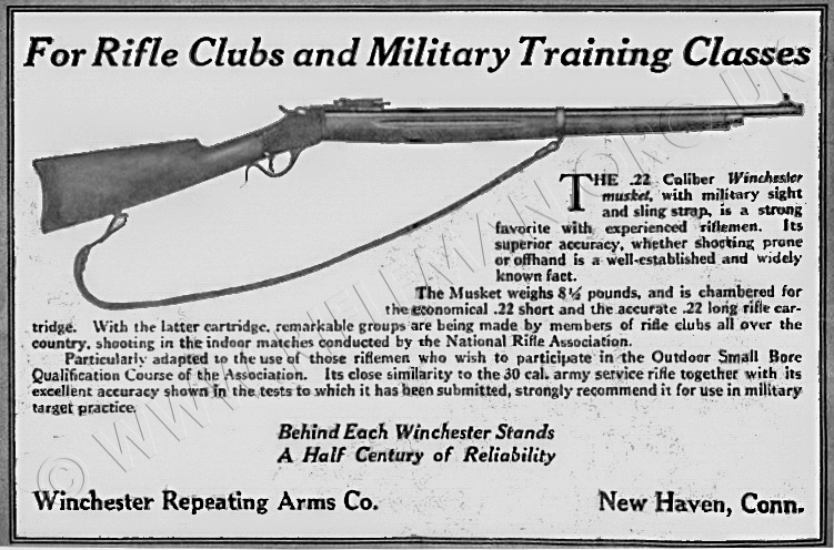 Original 1917 Winchester Gun Advertisement..be Nice Framed Collectibles