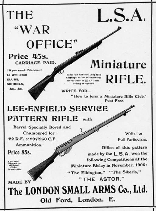 The War Office 1906 Pattern Miniature Rifle